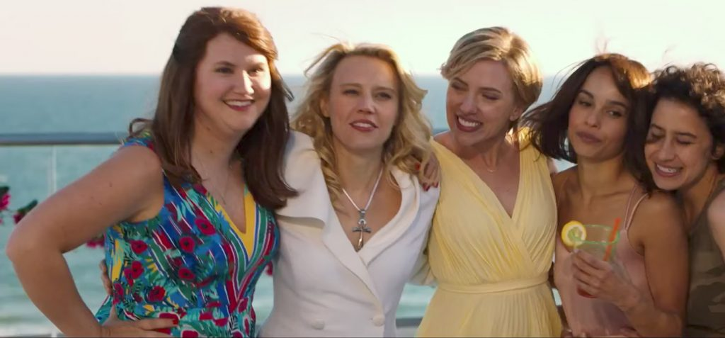 Egyptian Ankh Cross Pendant Necklace Kate McKinnon in Rough Night (2017)