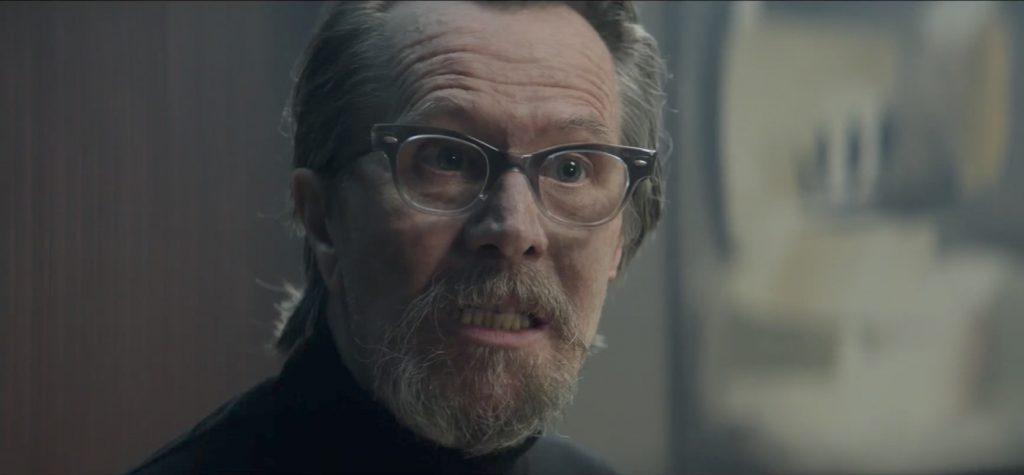 Half tinted glasses Gary Oldman in The Hitman's Bodyguard (2017)