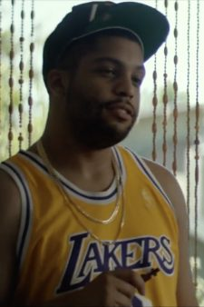#8 Kobe Bryant LA Lakers shirt O'Shea Jackson Jr. in Ingrid Goes West (2017)