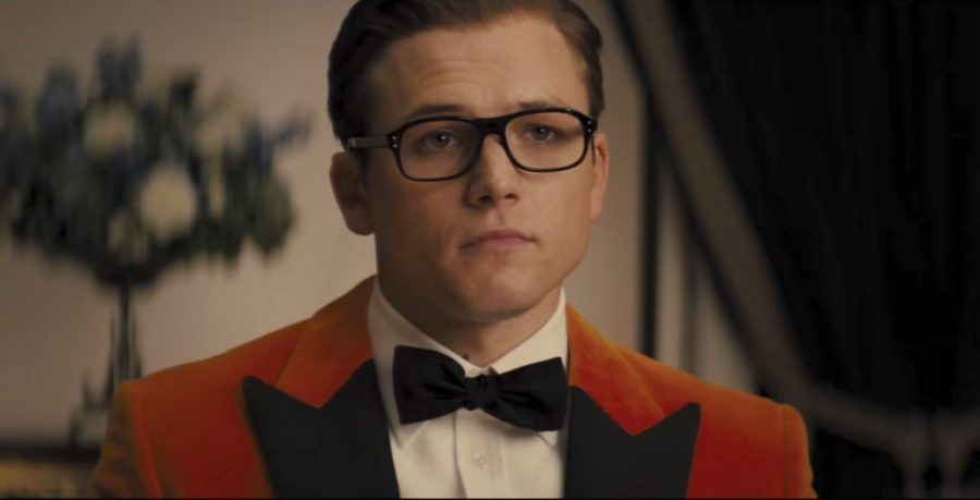 Glasses Taron Egerton in Kingsman: The Golden Circle (2017)