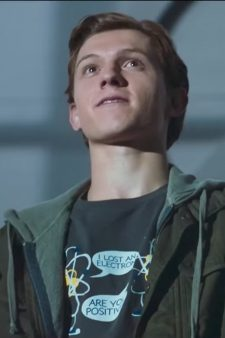 I lost an Electron shirt Tom Holland in Spider-Man: Homecoming (2017)