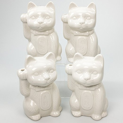 Neko Lucky Cat Ceramic Tiki Mug in Landline (2017)