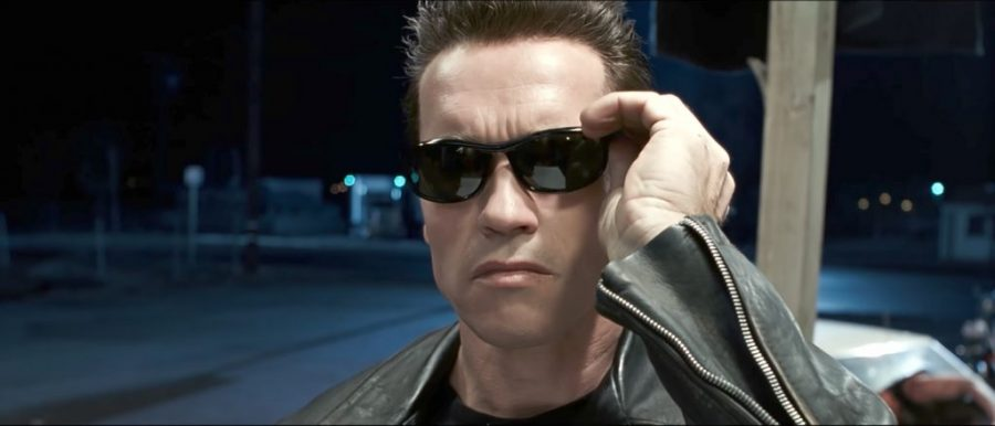 Sunglasses Arnold Schwarzenegger in Terminator 2: Judgment Day
