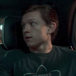 The Physics Is Theoretical shirt Tom Holland in Spider-Man: Homecoming (2017)