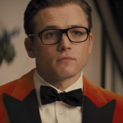 Black bowtie Taron Egerton in Kingsman: The Golden Circle (2017)