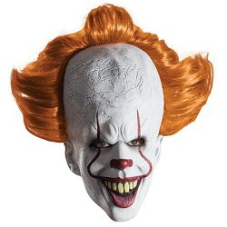 Pennywise mask from the movie It (2017)