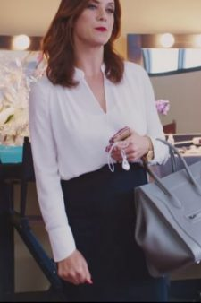Black high waist pencil skirt Kate Walsh in Girls Trip (2017)