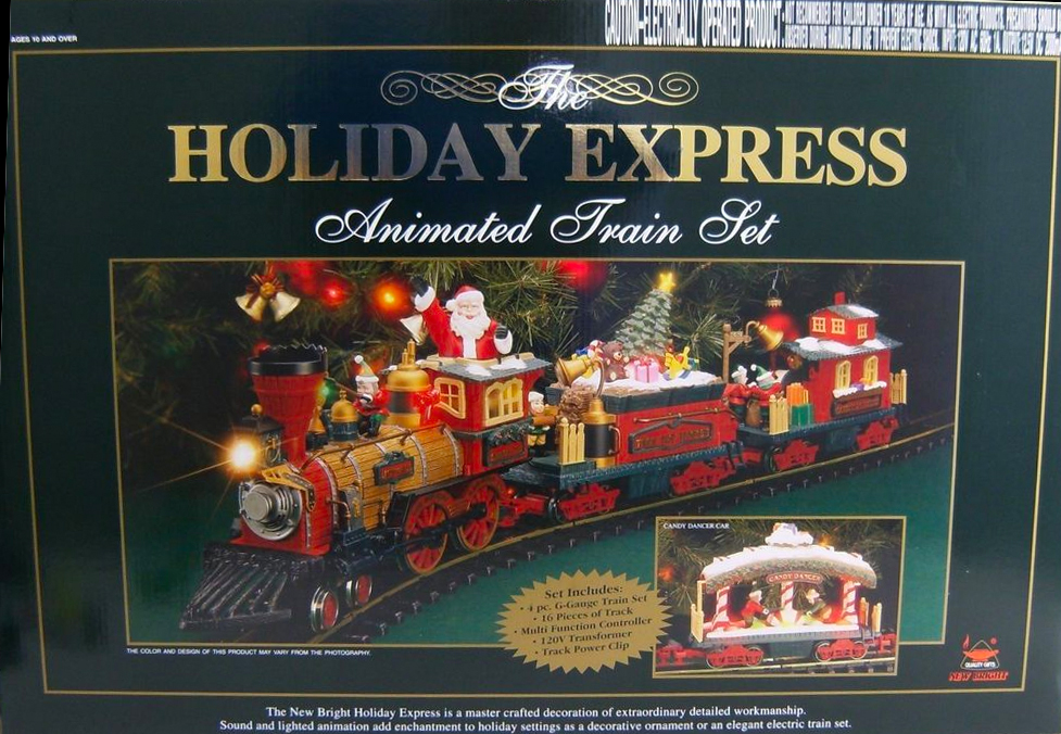 Christmas Train Set.Electric Christmas Train In Sharing Christmas 2017