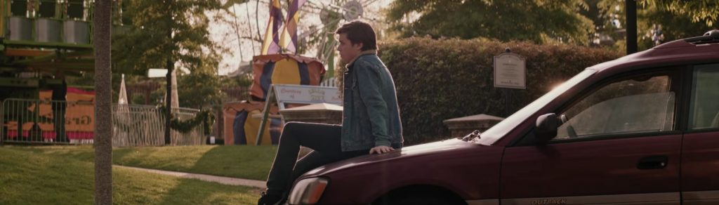 Denim jacket Nick Robinson in Love, Simon (2018)