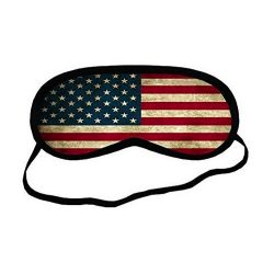 American Flag Sleeping Mask Adam Devine in When We First Met (2018)