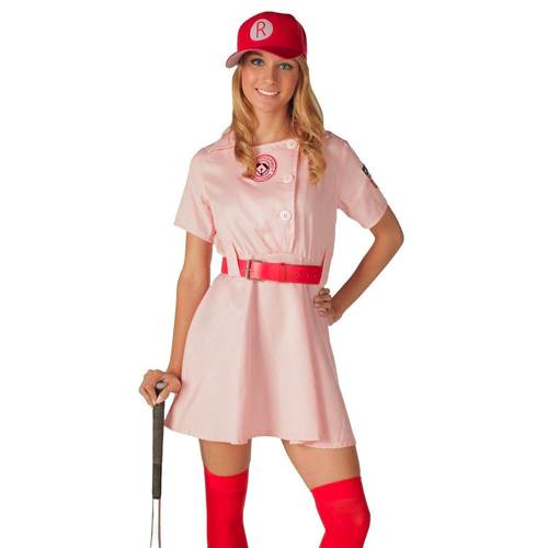 Baseball costume Alexandra Daddario in When We First Met (2018)