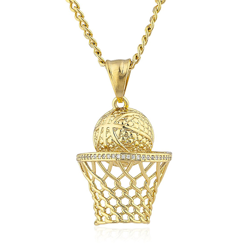 Basketball Hoop Pendant LilRel Howery in Uncle Drew (2018)