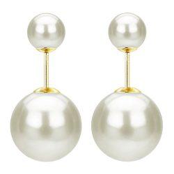 Double sided ball earrings Ajiona Alexus in Breaking In (2018)