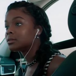 Double sided ball earrings Ajiona Alexus in Breaking In (2018)