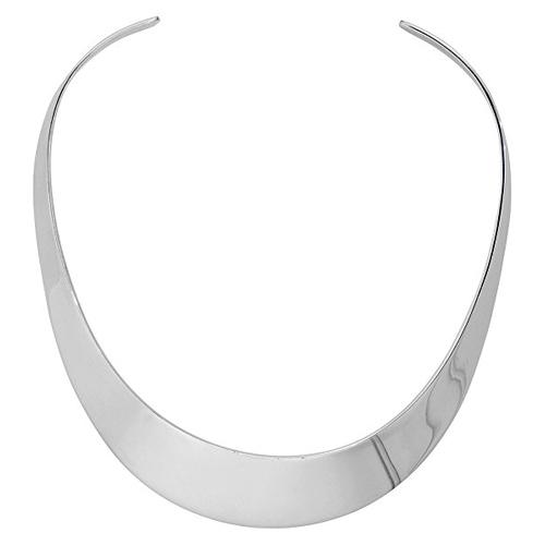 Large silver choker necklace Taraji P. Henson in Acrimony (2018)