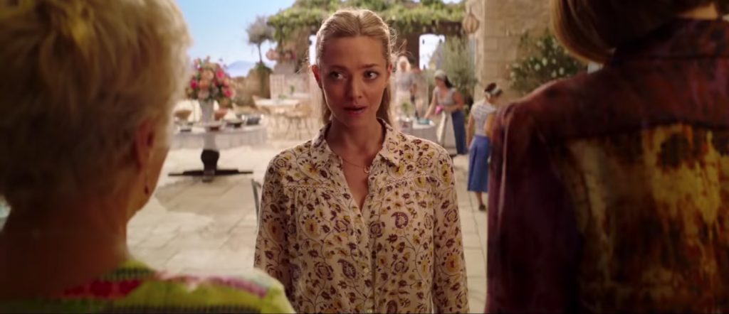 Lucky Horse Shoe Pendant Necklace Amanda Seyfried in Mamma Mia ! Here We Go Again (2018)