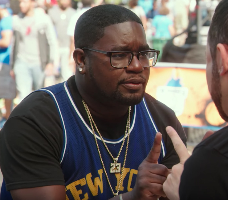 Number 23 Jordan Pendant LilRel Howery in Uncle Drew (2018)