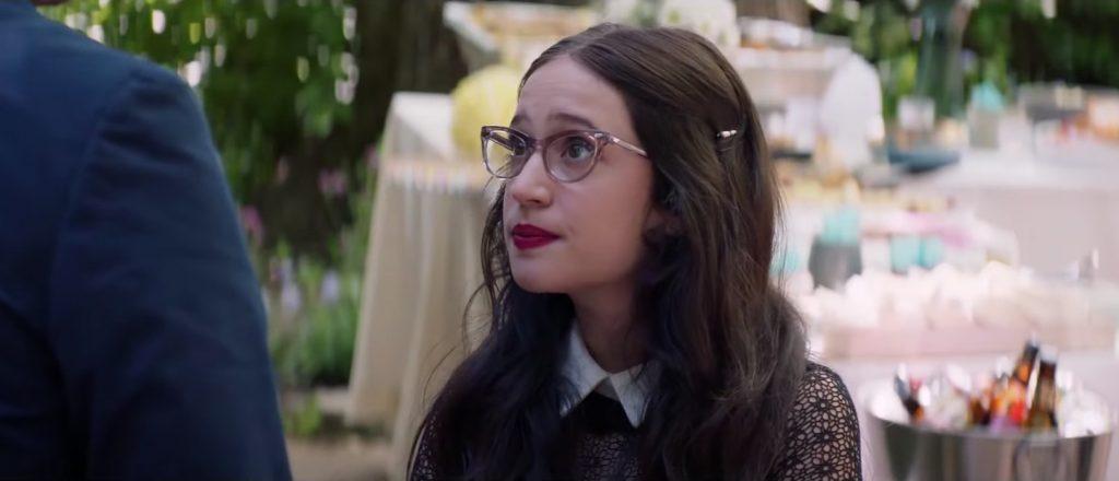 Translucent glasses Gideon Adlon in Blockers (2018)