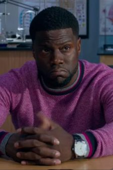 Fuchsia sweater Kevin Hart in Night School (2018)