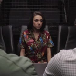 Parrots Hawaiian Shirt Mila Kunis in The Spy Who Dumped Me (2018)