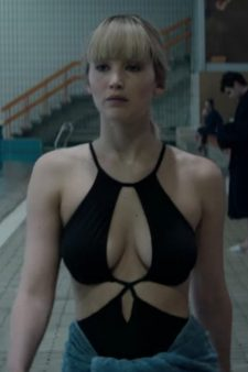 Black swimsuit Jennifer Lawrence in Red Sparrow (2018)