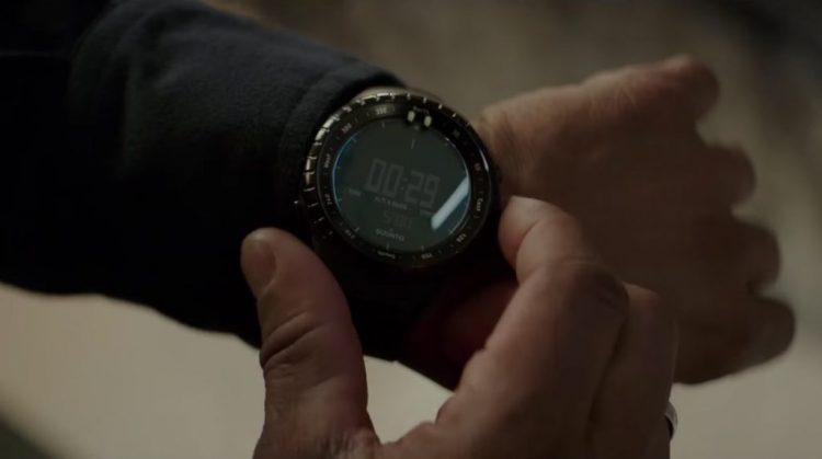 Digital black watch Denzel Washington in The Equalizer 2 (2018)