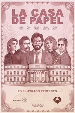 La casa de papel products