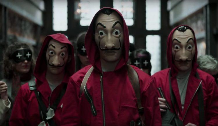 Salvador Dali Mask from La casa de papel