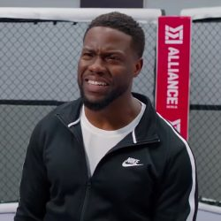 Black Nike jacket Kevin Hart in Night School (2018)