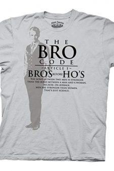 Bro Code Bro's Before Ho's Ice Gray T-shirt