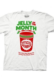 Christmas Vacation Jelly of the Month White Adult T-shirt