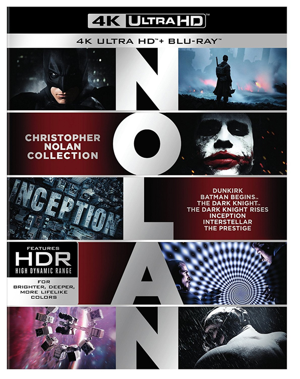 Christopher Nolan 4K Collection Ultra HD