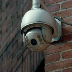 Outdoor security cam in Mile 22 (2018)