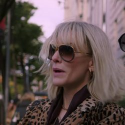 Sunglasses Cate Blanchett in Ocean's Eight (2018)