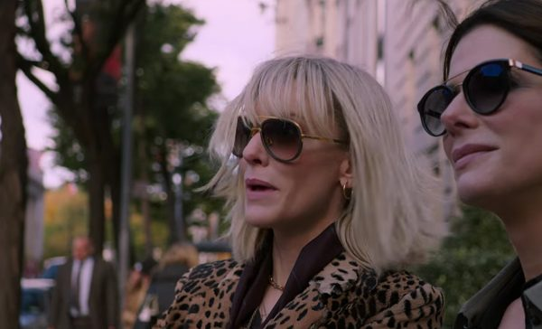 Sunglasses Cate Blanchett in Ocean's Eight (2018)