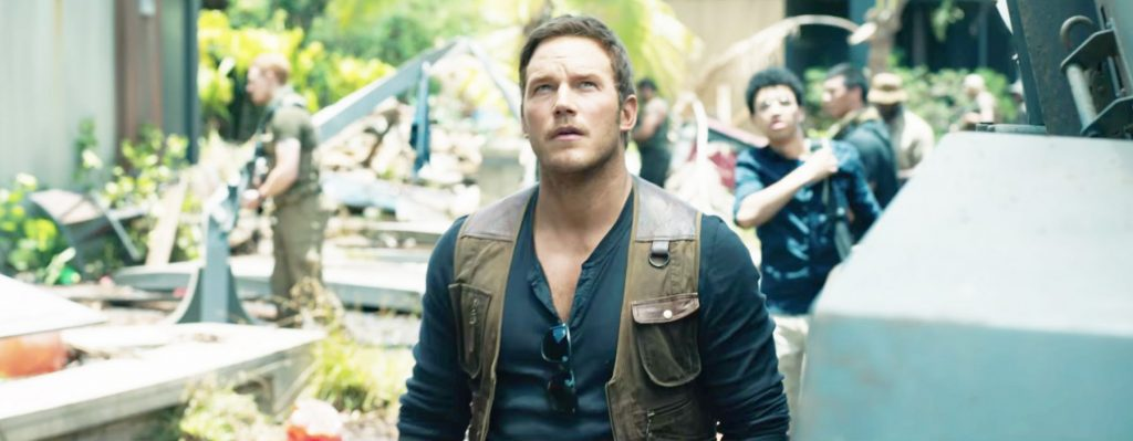 Sunglasses Chris Pratt in Jurassic World: Fallen Kingdom (2018)