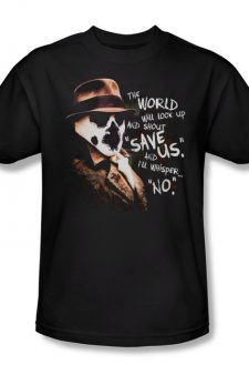 Watchmen Rorschach Save Us and I'll Whisper No T-Shirt