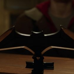 Batman batarang in Shazam! (2019)