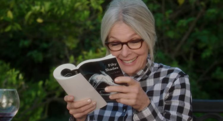 Fifty Shades Book Diane Keaton in Book Club (2018)