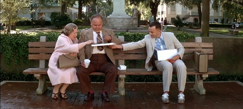 Forrest Gump Bench Tom Hanks