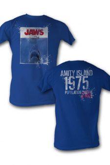 Jaws Amity Island T-shirt