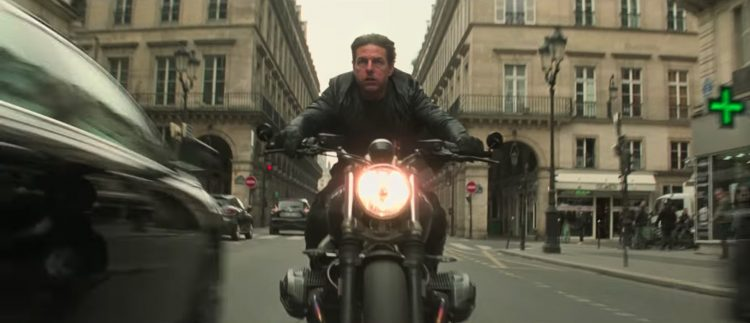 Leather jacket Tom Cruise in Mission: Impossible - Fallout (2018)