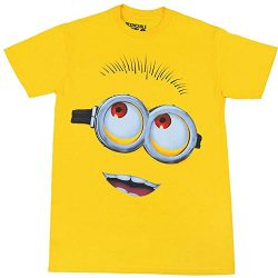 Minion Big Head Yellow T-Shirt