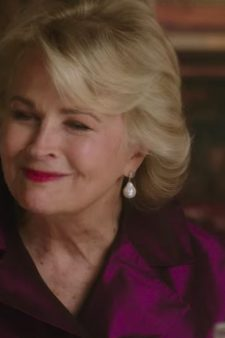 Pearl Drop Earrings Candice Bergen in Book Club (2018)