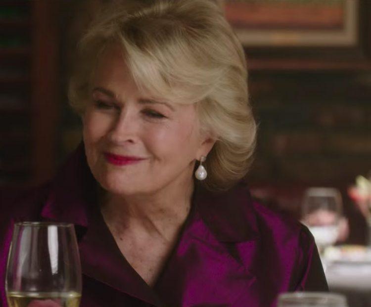 Pearl Drop Earrings Candice Bergen in Book Club (2018)