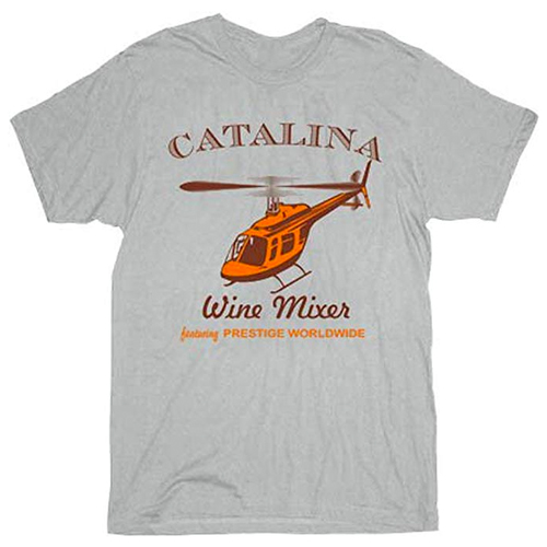 Step Brothers Catalina Wine Mixer Ice Grey Adult T-Shirt