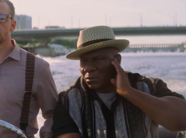 Straw fedora hat Ving Rhames in Mission: Impossible - Fallout (2018)