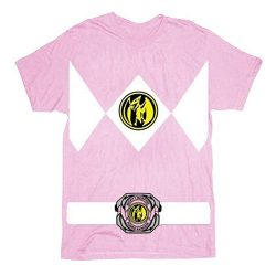 The Power Rangers Pink Rangers Costume T-shirt