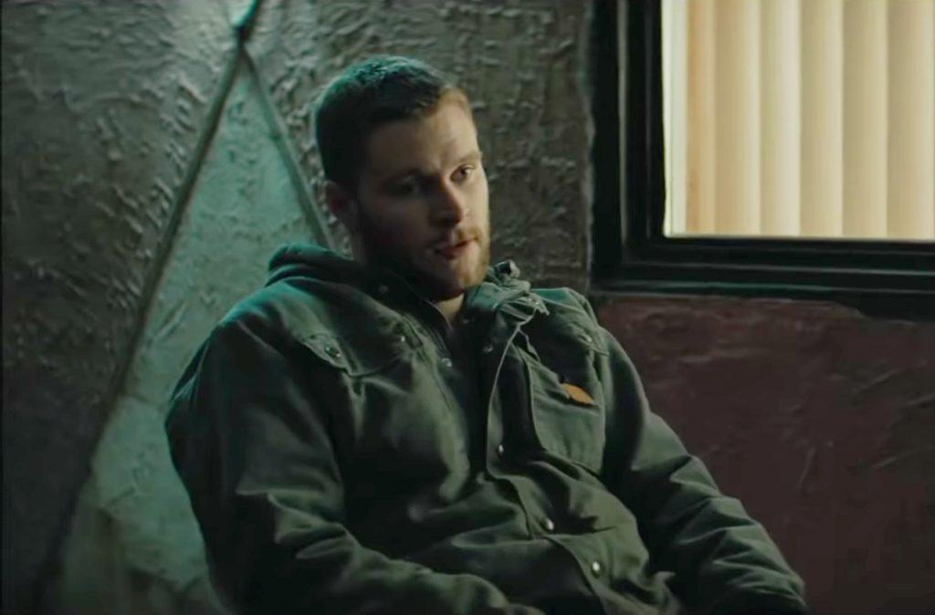Carhartt jacket Jack Reynor in Kin (2018)