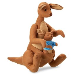 Kanga and Roo Plush in Christopher Robin (2018)